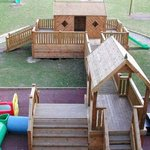 The kids loved the outdoor & indoor playgrounds!