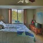  The Suite - Bedroom seperate from sitting area-View of the Sierras
