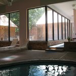  Sassafras Inn - view to Outdoor Courtyard  from Pool Area