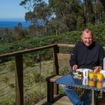  Breakfast on the Deck of an eco-lodge