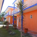                    Bright Colors of Hotel Hacienda Bacalar
