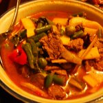 Spicy beef and veggies