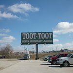                                                        Toot-Toot sign