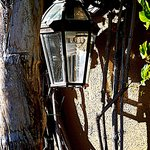 Pretty Lamp outside the rooms