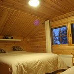                    2nd floor bedroom of Cabin Raitoporo 1B