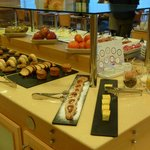 Delightful and delicious breakfast buffet