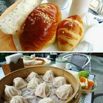 western and chinese breakfast. both are good
