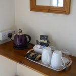 Tea & coffee facilities in all bedrooms