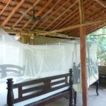 eco rooms with mosquito nets