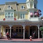                    Photograph of Casey&#39;s Corner - Euro Disney.