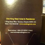                    Hotel info