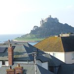 St. Michaels Mount from bedroom window
