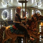 Carousel at Kemah Boardwalk