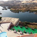 the main pool and the nile view
