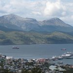 View from Los Acebos Ushuaia Hotel