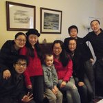 Chinese students from Edinburgh enjoying a break at Arkland, Inveraray