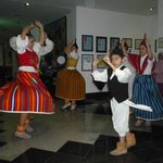                    Folk dancing