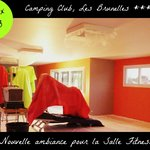  Ramnagement de la Salle Fitness au Camping Les Brunelles *****