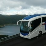 55 PAX BUS IN LAGOA DO FOGO - S. MIGUEL- AZORES