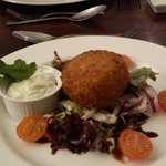                    Fishcake starter - excellent