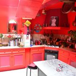 sabine's classic kitchen...you can dine, or take a cooking lesson