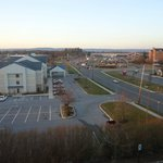 Motel 6 Harrisburg, view, Feb 2013