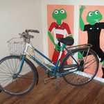 Funky decor and bikes for hire