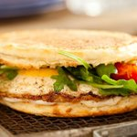 Classic Egg Sandwich on house-made english muffin