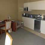                                      Kitchenette in our room