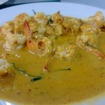 Shrimp in Red Curry !