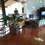 living room in our villa