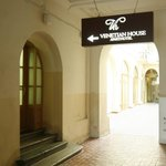  Entrance to reception
