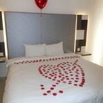 Our Valentines Bedroom