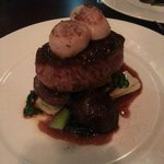 Fillet Steak and scallops