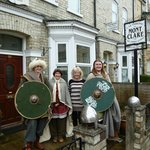  The Kent Vikings in York ready for the Viking procession