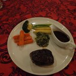                    Angus Tenderloin (normally served with mash or fries)
