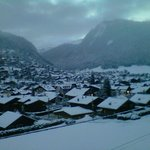                    A view from Chalet Morzine
