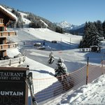 Lodge on left, piste on right = true ski-in-ski-out