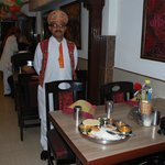                    the head waiter at suruchi
