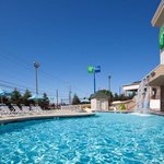 Come relax by our outdoor pool area!