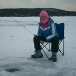                                      Ice Fishing at the Lazy E