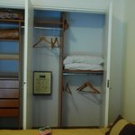 Well-Equipped Closet with Safe from 2nd Bedroom
