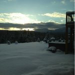                                      Sublime morning at Bear Mtn. Lodge