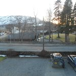 View from room 2 at Callater Lodge