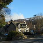Callater Lodge from the Glenshee road