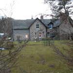                                      Callater Lodge from side gardens