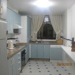 Fully equipped kitchen in 2 bedroom unit