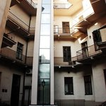 Courtyard/Elevator