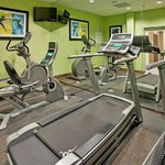  Our 24-Hour Fitness Center, with personal LCD TVs