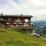 Hornkopfl Hutte for Lunch 4 to 5 hou